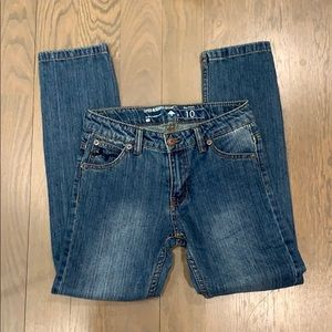 Boys size 10 distressed jeans